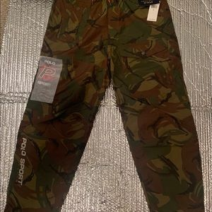 NEW Polo Ralph Lauren Sport Waterproof Camo Cargo